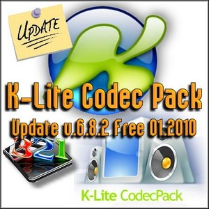K-Lite Codec Pack Update v.6.8.2 Free 01.2010
