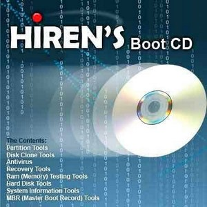 Hiren's BootCD ver.13.0 with Acronis & Paragon Addon (RUS/2011)