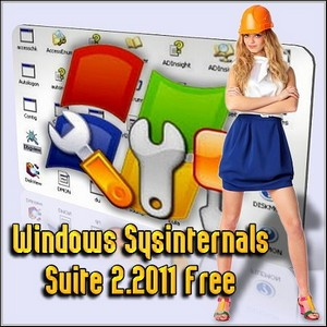 Windows Sysinternals Suite 2.2011 Free