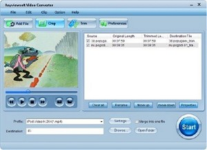 Anyviewsoft Video Converter 3.2.12 Portable