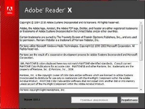 Adobe Reader X 10.0.1.434 RePackPortable