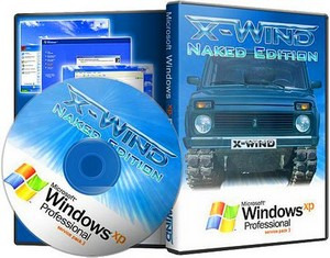 Windows XP Pro SP3 (X-Wind) by YikxX Naked Edition 140311 Rus