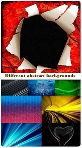 Different abstract backgrounds