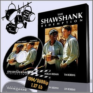 Побег из Шоушенка / The Shawshank Redemption (1994/DVDRip/1.37 Gb)