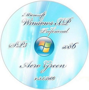 Windows XP Pro VL SP3 v5.1.2600 Aero Green x86 (03.04.2011)