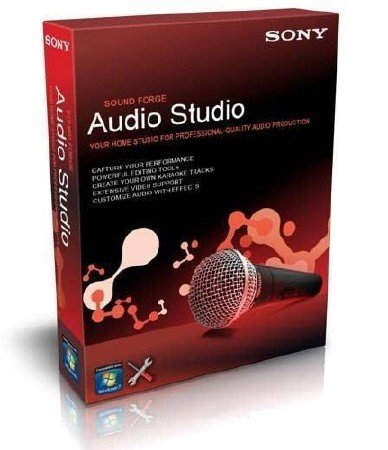Sony Sound Forge Audio Studio 10.0 Build 152