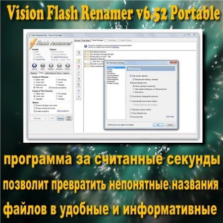 Vision Flash Renamer 6.52 Portable