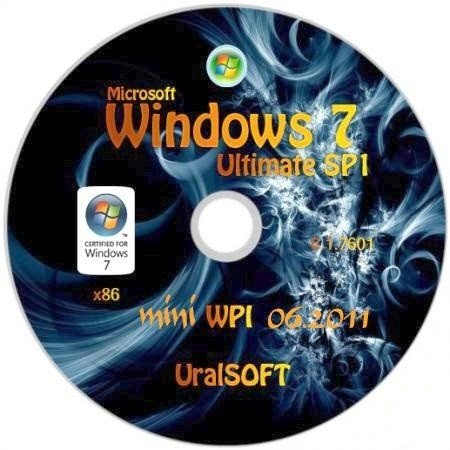 Windows 7 x86 UralSOFT+mini WPI v.2.06