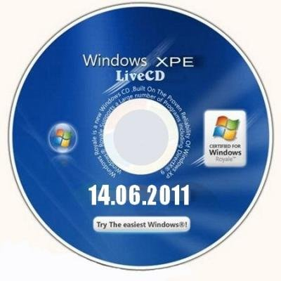LiveCD Windows XPE (14/06/2011)