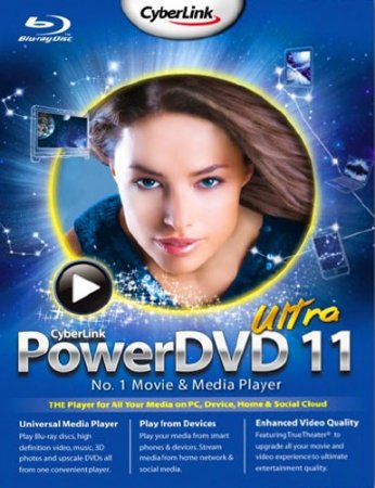CyberLink PowerDVD 11.0.1719.51 Ultra Lite Rus by MKN