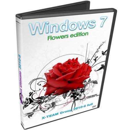 Windows 7 Ultimate X-TEAM Group 2010-6 Flowers Edition Full