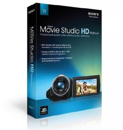 Vegas Movie Studio HD Platinum 11.0 Build 220 Production Suite