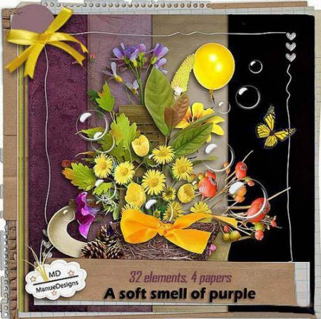 Scrap kit - A Soft Smell Of Purple