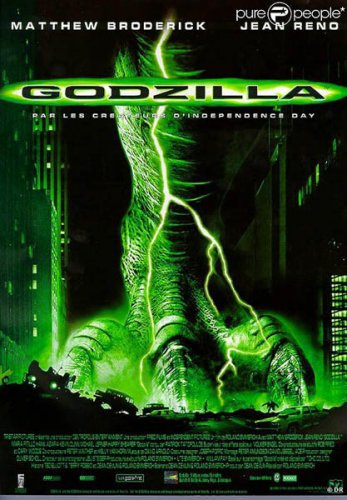 Годзилла / Godzilla (1998) BDRip + BDRip-AVC + DVD5 + BDRip 720p/4.36 GB
