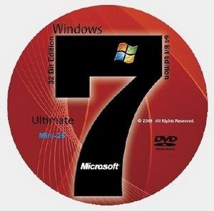 Windows 7 Ultimate SP1 x86-х64 RU Mini-25 update 110810
