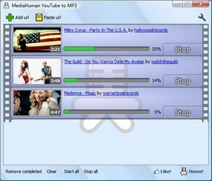 MediaHuman YouTube to MP3 Converter 1.5.1 / Eng