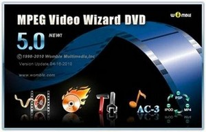 Womble MPEG Video Wizard DVD v5.0.1.103 (09.2011)