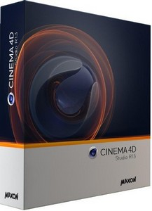 Maxon Cinema 4D Studio R13 Retail iSO For Windows and MacOSX