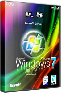 Windows 7 Ultimate SP1 (x86/x64) Beslam™ Edition [v5] 2DVD