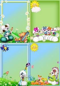 детские картинки для оформления: