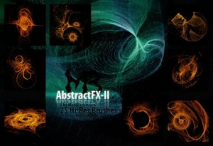 25 Fractal Brushes for Photoshop