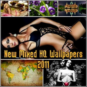 New Mixed HQ Wallpapers 2011