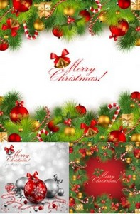 Beautiful Christmas background 03
