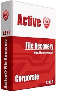 Active@ File Recovery v8.2.0 Corporate portable - Восстановление данных.