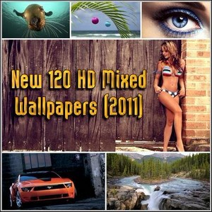 New 120 HD Mixed Wallpapers (2011)