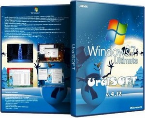 Windows 7 x86 SP1 Ultimate UralSOFT v.4.12 (2011/RUS) *fixed*