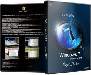 Windows 7 Ultimate SP1 x86 Sergei Strelec (19.12.2011)