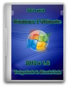 Windows 7 Ultimate SP1 x64 VolgaSoft v 1.6