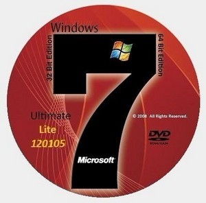 Microsoft Windows 7 Ultimate SP1 x86-x64 RU Lite Update 120105