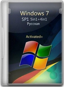 Windows 7 SP1 5in1+4in1 Русская (x86/x64) 18.01.2012