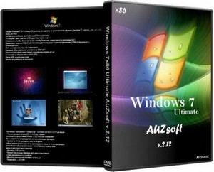 Windows 7х86 Ultimate AUZsoft v.2.12 (Русский)