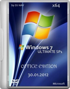 Windows 7 SP1 Ultimate x64 Office Edition by DJ HAY (2012/RUS)