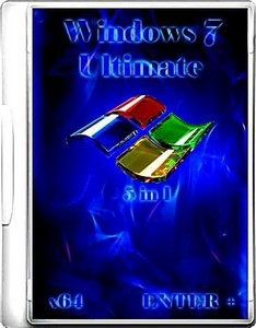 Windows 7 Sp1 x64 5 � 1 by Enter + (2012/Rus)
