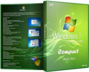 Windows 7 Ultimate SP1 x64 Compact 08.02.2012