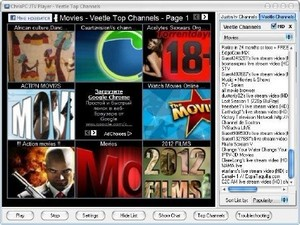 Онлайн телевизор ChrisPC JTV Player 3.40 + Portable