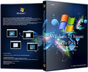 Microsoft Windows 7 Ultimate sp1 x64 crystal 2012 by nolan2112 6.1.7601.175 ...