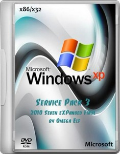 Windows XP SP 3 (2010 Seven eXPanded Final by Omega Elf) (2012/RUS)