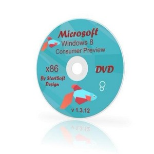 Windows 8 Consumer Preview x32 By StartSoft (ENG/RUS2012)