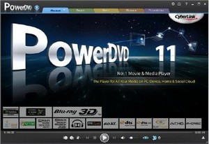 CyberLink PowerDVD 11.0.2608.53 Ultra Lite