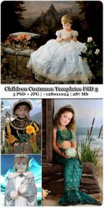 Children Costumes Templates PSD 5