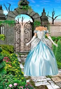 Шаблоны для фотошопа старинные платья