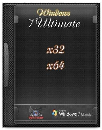 Windows 7 Ultimate x32/x64 cyclone by murLO (2012)