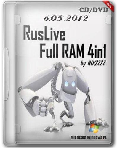 RusLiveFull RAM 4in1 by NIKZZZZ CD/DVD (06.05.2012)