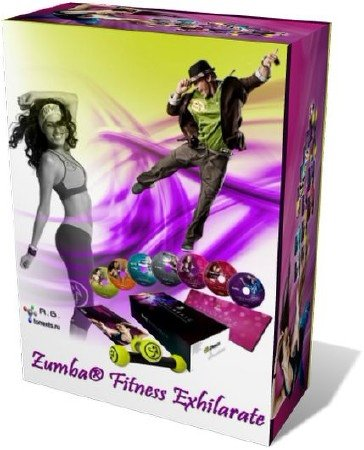 Zumba Fitness Exhilarate Collection. The Ultimate Experience Set (2011) DVD ...
