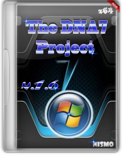Windows 7 The DNA7 Project x64 v.1.6 (2012/Rus)