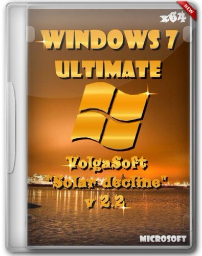 Windows 7 Ultimate SP1 VolgaSoft v 2.2 Solar decline (2012/x64)